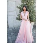 Rochie eleganta lunga transformabila cu bretele foarte lungi modele diverse